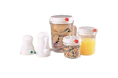 manual vacuum food storage system